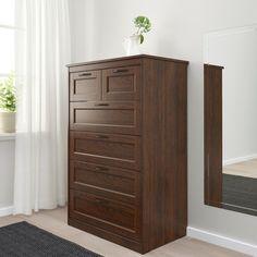 6 Drawer Chest, 6 Drawer Dresser, Drawer Unit, Chest Of Drawers, Vinyl Record Storage, Lp Storage, Dresser Storage, Tall Cabinet Storage, Bedroom Storage