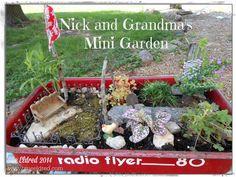 Nick & Grandma's Mini Garden