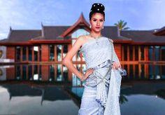 Thai National Costume by Mali #malimallika มะลิในชุดไทยค่ะ IG:mallikamali