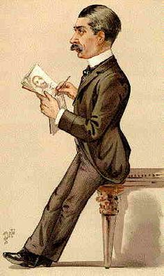 Leslie Ward as caricatured in Vanity Fair, 1889    http://www.antiquemapsandprints.com/scansj/j-20127.jpg