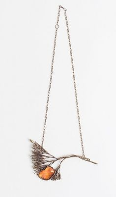 A #vintage 1970s brass branch necklace from A Current Affair.