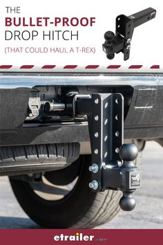 The thick channel plates and welded gusset on this USA-made, solid steel ball mount make it perfect for heavy-duty use. Tow up to lbs GTW! Utility Trailer Camper, Dog Trailer, Trailer Diy, Trailer Plans, Trailer Hitch, Old Ford Trucks, Lifted Chevy Trucks, Pickup Trucks, Custom Trailers