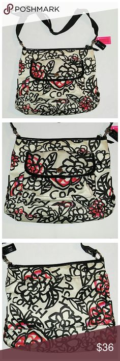 "Coach Poppy Graffiti Floral Crossbody Bag Authentic & fun bag in good shape - showing average wear. It has some dirty areas, but nothing major. Measures 9"" x 12"" x 2.5. Coach Bags Crossbody Bags"