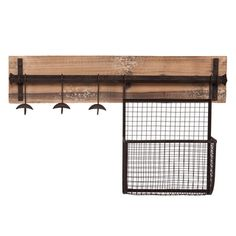 @Overstock.com - Upton Home Ashbury Entryway Wall Mount Coat Rack with Storage - Upton Home Ashbury wall mount coat rack with storage has a distressed fir finish and aged metal accents offering a charming, rustic style. This storage unit is perfect for the entryway or mudroom. Great addition to transitional and contemporary homes.  http://www.overstock.com/Home-Garden/Upton-Home-Ashbury-Entryway-Wall-Mount-Coat-Rack-with-Storage/8409766/product.html?CID=214117 $69.99