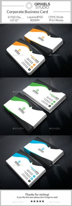 29 best business card design ispiration images on pinterest buy corporate business card by opixelsstudio on graphicriver features easy customizable and editable business card design in with bleed setting inch colourmoves