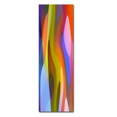 Dappled Light Panoramic Vertical 1 by Amy Vangsgard Graphic Art on Wrapped Canvas