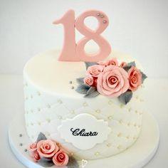 Birthday cake Birthday cake Un abito (noto. 18th Birthday Cake For Girls, 17 Birthday Cake, Elegant Birthday Cakes, Birthday Cake Decorating, Birthday Cakes Women, 18th Birthday Cake Designs, Birthday Decorations, Birthday Cards, Debut Cake