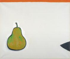 William Scott, [Pear], 1980, Oil on canvas, 61 × 52 cm / 24 × 20½ in, Private collection