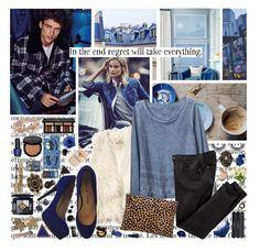 """regret"" by ezster ❤ liked on Polyvore featuring Hollister Co., Gap, Pour La Victoire, Clare V., Narciso Rodriguez, OPI, Kat Von D, Marjana von Berlepsch, Bobbi Brown Cosmetics and Yves Saint Laurent"