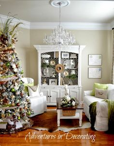 Adventures in Decorating: Our Christmas Sitting Room