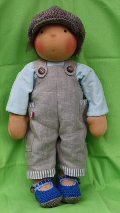 OMG - I'm loving this Boy Waldorf Doll from my new favorite maker
