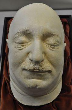 Totenmaske von Friedrich Nicolas Manskopf | Sammlungen an der Goethe-Universität