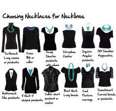 Maiko Nagao - diy, craft, fashion + design blog: Choosing the right necklaces for necklines