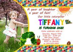 Very Hungry Caterpillar Birthday Party by FabulousInvitation, $8.99