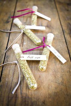 glittery sendoff wedding ideas…