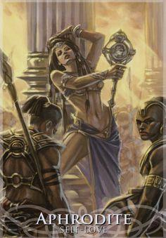 Goddesses and Sirens Oracle: http://marytcusack.com/maryc/tarot/index.html