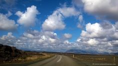 On the road in Iceland! It's a lot of fun to drive when the sky is like that. Do you like it?  Feel free to repin!   #iceland #photography #landscape #clouds #sky