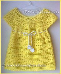 Delicadezas en crochet Gabriela: Vestido de bebé