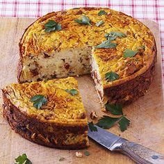 Gemüse-Quark-Kuchen