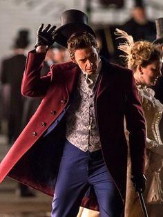 Hugh Jackman The Greatest Showman Coat