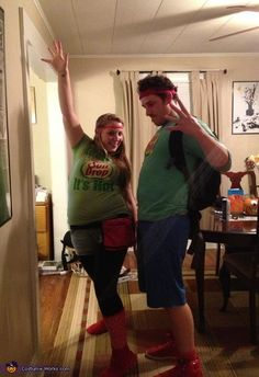 SunDrop Couple - DIY Halloween Costume