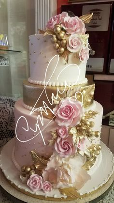 Wedding cakes, simply click this truly handy pin number 3339166382 right here. Creative Wedding Cakes, Floral Wedding Cakes, Amazing Wedding Cakes, Wedding Cake Designs, Wedding Cupcakes, Beautiful Birthday Cakes, Gorgeous Cakes, Pretty Cakes, Bolo Floral