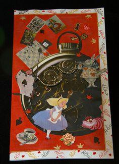 Tarjeta Alice in Wonderland