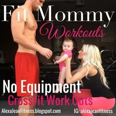 Fitness & Health: No Equipment - CrossFit Work Out - 1 Week beginner CrossFit workout, CrossFit, crossfit for pregnant women, fit mommy workouts, no equipment crossfit workout, no equipment workouts