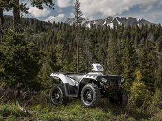 New 2016 Polaris Sportsman 850 White Lightning ATVs For Sale in Michigan.