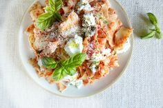 Deconstructed Ricotta Lasagna-- All the cheesy goodness of lasagna without the fussy layering.