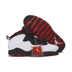 "Air Jordan 10 Retro ""Chicago"" Men White"