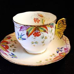 Royal Albert Butterfly Handle Virginia