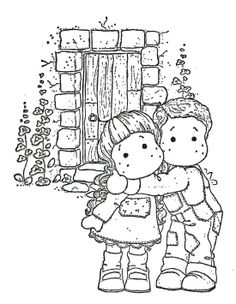 Colouring Pics, Adult Coloring Pages, Coloring Books, Coloring Sheets, Step Cards, Black And White Drawing, Marianne Design, Cute Images, Copics