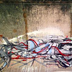 Part of a mural with @dem189 , @babsuvtpk, #keag #junkee #sore