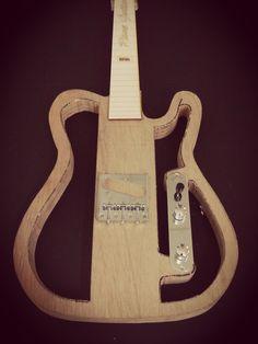 Thinline tele in the making - Raneguitars #luthier #telecaster #raneguitars