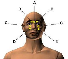 Acupressure Points for Relieving Eyestrain