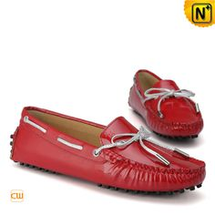 Gommino Leather Driving Moccasins Women Shoes CW314006 $108.89 - www.cwmalsl.com