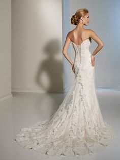 Designer Wedding Dresses by Sophia Tolli  |  Wedding Dresses  |  Style #Y11214 - Felicita.  in love with things that are too expensive..