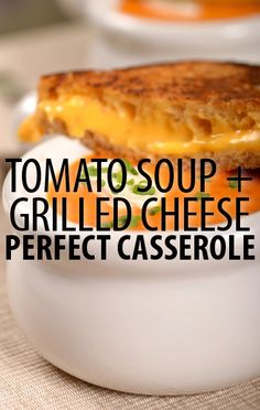 Check out Carla Hall's Grilled Cheese Tomato Casserole Recipe! Combine two classic lunchtime tastes in this delicious and satisfying dish from The Chew. http://www.recapo.com/the-chew/the-chew-recipes/chew-carla-hall-grilled-cheese-tomato-casserole-recipe/