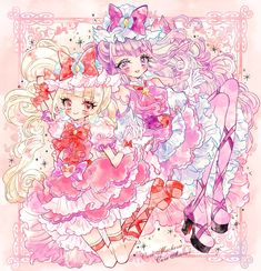埋め込み Chibi Girl Drawings, Cute Kawaii Drawings, Kawaii Art, Kawaii Anime, Pretty Cure, Anime Girl Neko, Anime Art Girl, Kawaii Chan, Anime Songs