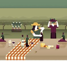 We were commissioned by Seegno to illustrate an interactive website they designed & delevoped for a new Museum in Mogadouro dedicated to the heritage of the region.Our illustrations show the processes of making bread, olive oil, honey, wine and harvesti…