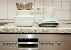 Cleaning your dishwasher monthly reduces health risks and extends appliance life. Rooter offers tips for how to clean a dishwasher correctly. Best Dishwasher, Cleaning Your Dishwasher, Commercial Dishwasher, Dishwasher Detergent, Dish Detergent, Kitchen Cleaning, House Cleaning Tips, Deep Cleaning, Kitchen