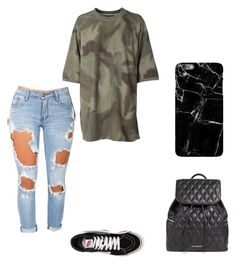 """""""Ripped"""" by ashtonsgirl-5soslover on Polyvore featuring Vera Bradley, Machine, adidas Originals and Vans"""