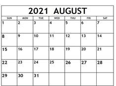 August Month Calendar, 2018 Calendar Template, Excel Calendar, Printable Blank Calendar, Monthly Calendar Template, Print Calendar, 2021 Calendar, Calendar Wallpaper, Calendar Design