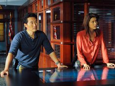 Grace Park, Daniel Dae Kim leave 'Hawaii Five-O' https://tmbw.news/grace-park-daniel-dae-kim-leave-hawaii-five-o  Aloha may mean hello and goodbye, but in this case, it's just goodbye.Hawaii Five-O series regulars Grace Park (Kono Kalakaua) and Daniel Dae Kim (Chin Ho Kelly) are leaving the long-running show before Season 8 begins in the fall. The pair won't appear in any upcoming episodes. The show plans to address their absence in the premiere.Variety reports that the stars' departure is…