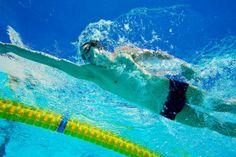 Monday swim set: Drill & race!