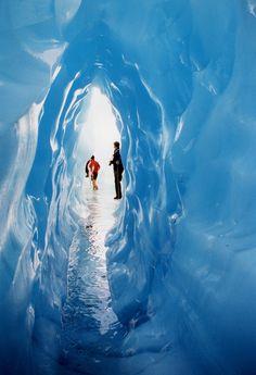 New Zealand Ice Cave, Fox Glacier #newzealandwalkingtours {#newzealandwalkingtrails#newzealandwalkingtracks}