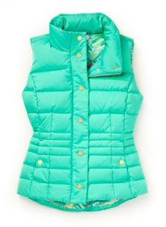 Lilly Pulitzer Isabelle Vest Puffer Vest Outfit, Vest Outfits, Winter Outfits, Casual Outfits, Cute Outfits, Lilly Pulitzer Prints, Green Vest, Fashion Lighting, Comfortable Outfits