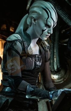 Actres Sofia Boutella magnificent role play by #Star_Trek_Beyond Jaylah #Costume now exclusively available at The Samishleather online shop get with International #free delivery!