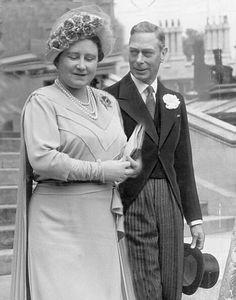 King George VI and Queen Elizabeth